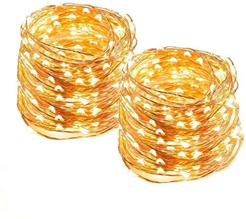 Catene Luminose 20M Stringa Luci LED Impermeabile