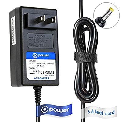 T POWER 9V Ac Dc Adapter Charger Compatible with Polaroid Instant Print Digital Camera Z230E Zink CZA-05300 CZA-05300B,Z2300 Z2300W Z2300B Replacement Power Supply Cord from T POWER for Polaroid , Polaroid Instant