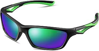 Kids Sunglasses TPEE Unbreakable Polarized Sports Glasses...