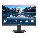 Philips 273B9 - Monitor docking USB-C da 27', regolabile in altezza (1920 x 1080, 75 Hz, VGA, HDMI, DisplayPort, USB-C, hub USB), colore: Nero