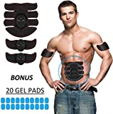 Eon Concepts Muscle Toner Trainer Ultimate Abs Stimulator With 20 EXTRA Gel Pads