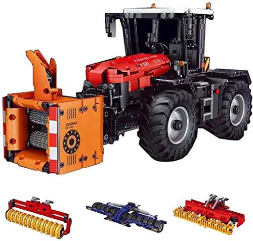 DioMate Technischer Traktor 2716 Festblock, Straßenbau-Fahrzeugmodell, Ferngesteuerter Traktor, kompatibel mit vielen Marken