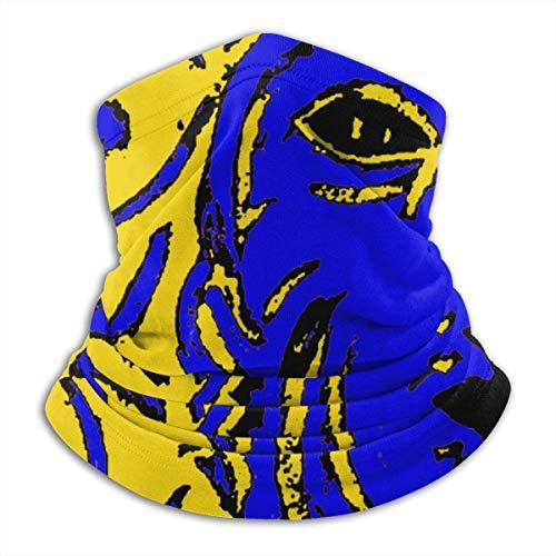 NA Janus Winter Neck Warmer for Men Women Ski Neck Gaiter Cover Face Mask