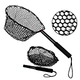 Fiblink Folding Aluminum Fishing Landing Net Fish Net with Extending Telescoping...