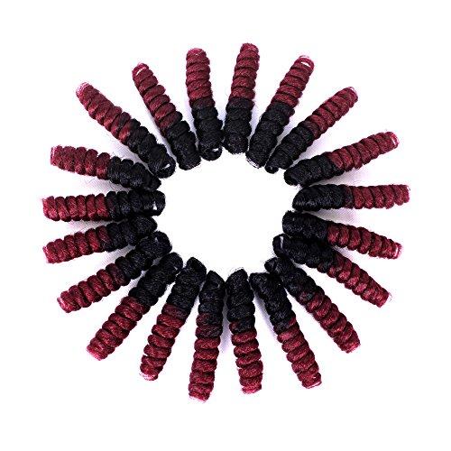 10inch Havana Mambo Twist Crochet Braid Hair Africa American Braiding Hair Extension For Black Woman10inch^^^1b bug