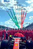 Agenda 2021-2022: Agenda 2021-2022 /bloc note thème Formula 1 , 6x9 po très pratique 125 pages