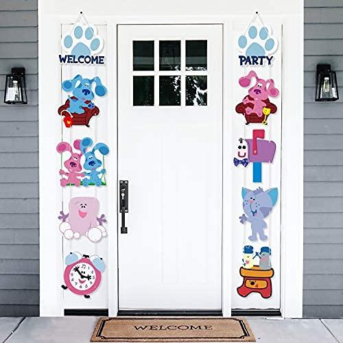 Blue's Clous Porch - Guirnalda colgante con diseño de Dog Door