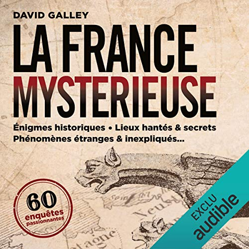 La France mystérieuse audiobook cover art
