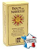 Cartes Production / Poker Production Juego de 78 Cartas : Tarot de Marseille [Importado de Francia]