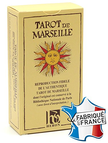 Cartes Production / Poker Production Juego de 78 Cartas : Tarot de Marseille [Importado de Francia]