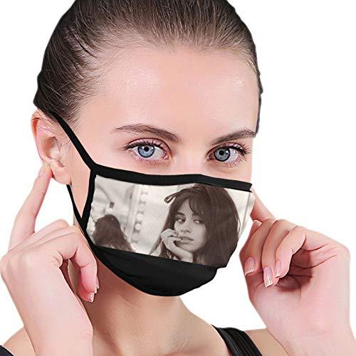 Camila Cabello 1.6 de alta elasticidad moda microfibra cuello caliente máscara bufanda unisex a prueba de viento a prueba de polvo