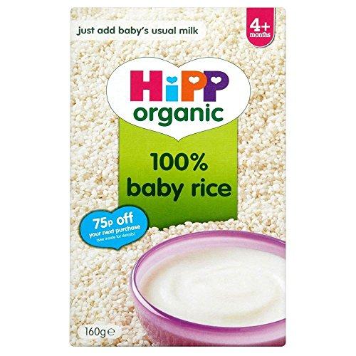 Hipp Organic Baby Rice 4mth+ (160g)