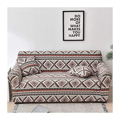 HUIJUNWENTI Cubiertas de sofá para Sala de Estar, Sofá Funda Elástica Sofá Sofa Sofa Sofa Toalla Cubierta Sofás con Chaise Longue 1pc (Color : Color 22, Specification : 4 Seater 235 300cm)