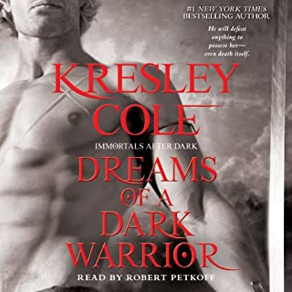Dreams of a Dark Warrior: Immortals After Dark, Book 11 audiobook cover art