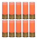 St Action Pro 12GA Gauge Shotgun Safety Trainer Cartridge Dummy Shell Rounds with Brass Case, Orange, 10 Pack