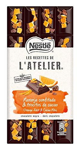 Nestlé Les Recettes De L'Atelier Chocolate Negro Con Naranja 170 g