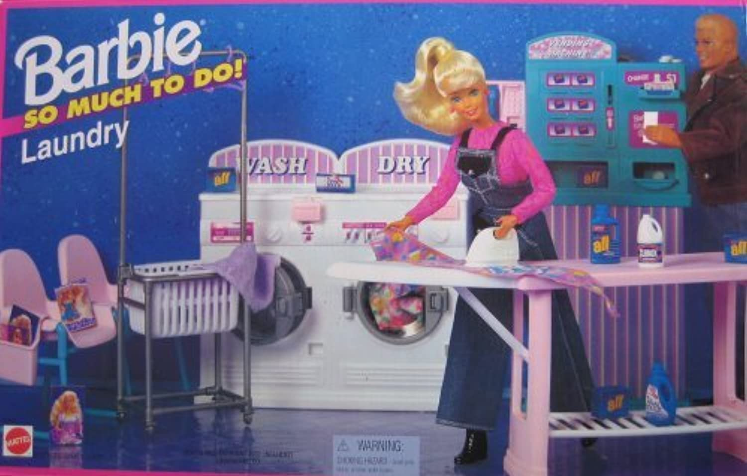 Barbie So Much To Do Laundry Playset (1995 Arcotoys, Mattel) by Arcotoys, Mattel