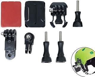 XIANYUNDIAN Helmet Curved Adhesive Sticker 3-Way Arm Buckle Mount Kit For GoPro Hero 8 7 6 5 For SJCAM For Xiaomi YI 4K Fo...