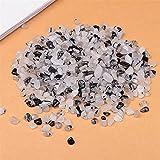 JAP768 50G-100G Natural Cuarzo Cultivo Blanco Mini Rock Mineral Espécimen Decoración para el hogar Colorido para Acuario Curación de Piedra Moda Simple (Color : Tourmaline 2, tamaño : 100g)