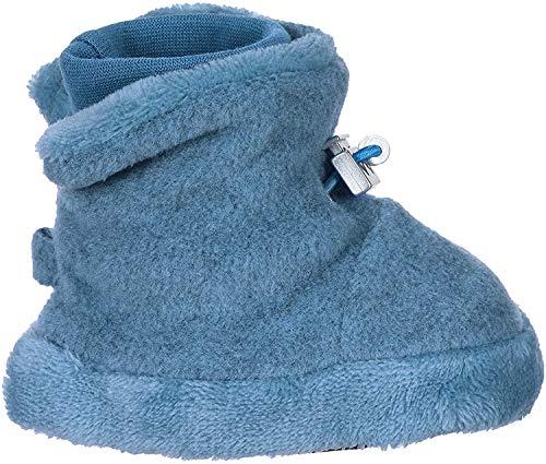 Sterntaler Baby-Schuh, Jungen Krabbelschuhe, Blau (Mittelblau Mel. 375), 15/16 EU