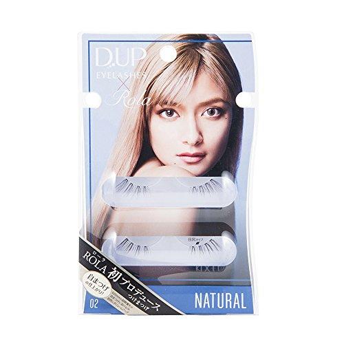 DUP アイラッシュ ROLA コレクション 02 NATURAL