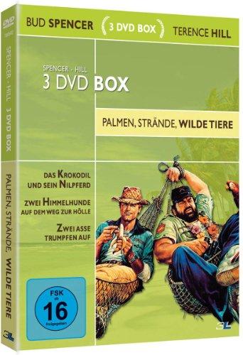 Bud Spencer & Terence Hill 3 DVD Box - Palmen, Strände, wilde Tiere