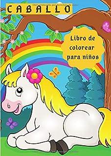 CABALLO Libro de colorear para niños: 30 caballos únicos para colorear