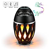 Premson Torch Atmosphere Bluetooth LED Lamp Wireless Outdoor Portable Stereo Speaker with HD