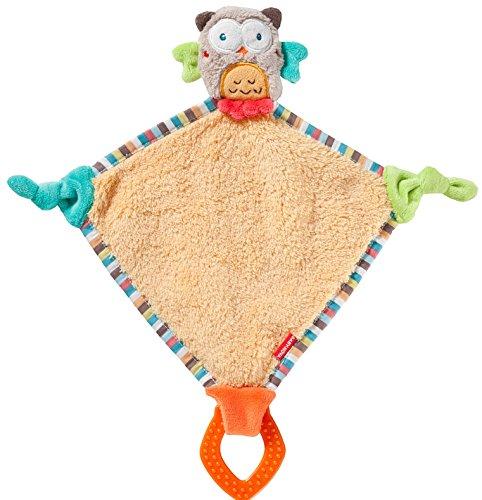 Baby-Nova - Mantita para bebé con manta de peluche, diseño de búho