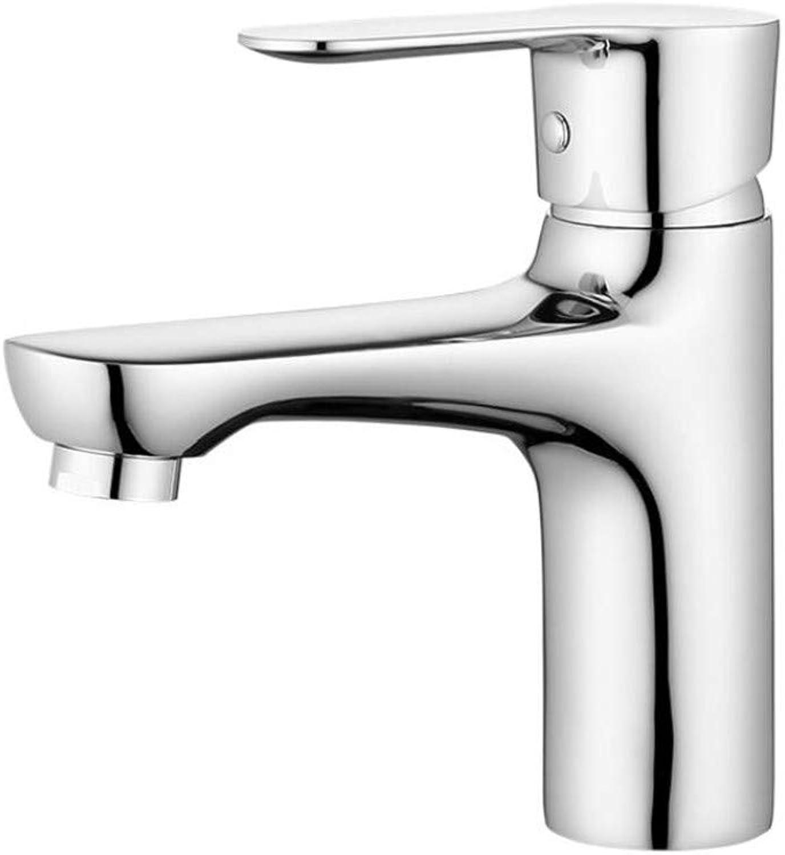 Faucet Mone Spout Basinbathroom Faucet Cold and Hot Copper Washbasin Table Tap