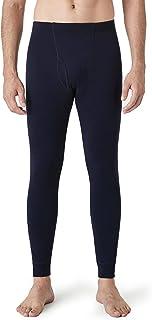 LAPASA Men's 100% Merino Wool Base Layer Bottom, Lightweight & Midweight Warm Thermal Underwear Long Johns (Thermoflux M30...