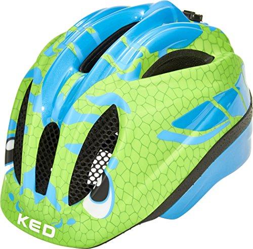 KED Meggy II Trend Helmet Kids Dino Lightblue Green Kopfumfang XS | 44-49cm 2018 Fahrradhelm