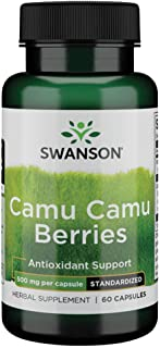 Sponsored Ad - Swanson Wildcrafted Camu Camu Berries 500 Milligrams 60 Capsules