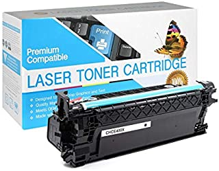 USA Advantage Compatible Toner Cartridge Replacement for HP 507X (CE400X) (Black,1 Pack)