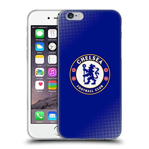 Head Case Designs Offizielle Chelsea Football Club Halbton Wappen Soft Gel Handyhülle Hülle Huelle kompatibel mit Apple iPhone 6 / iPhone 6s