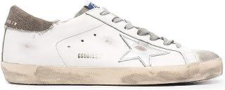 Golden Goose Luxury Fashion Uomo GMF00101F00114910511 Bianco Pelle Sneakers | Stagione Permanente