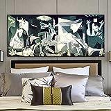 WKAQM Schwarz Weiß Guernica Picassos Gemälde Kunstdrucke
