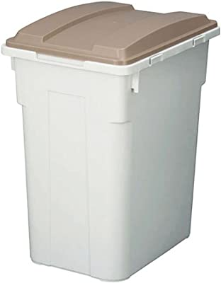 トンボ ゴミ箱 70L 日本製 フタ付き 連結 ブラウン 新輝合成
