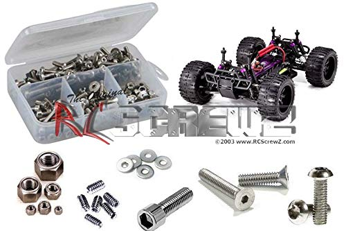 RCScrewZ RedCat Racing Volcano EXP  Stainless Steel Screw Kit, Complete Replacement for RC Car Rusted and Stripped Screws, Race Quality Upgrade, Assembled in USA. rcr034