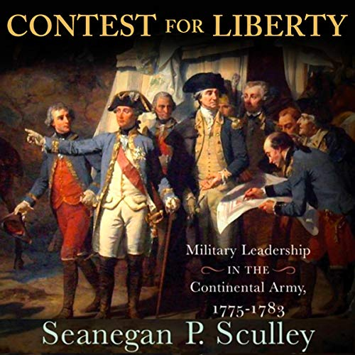 The Contest for Liberty audiobook cover art