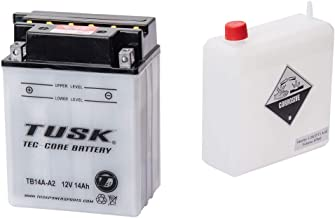 Mighty Max Battery YTX14-BS Replacement Battery for Honda VTX1300 CRS 03-09 Brand Product