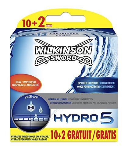 Wilkinson–Hydro 5–Rasierklingen für Herren