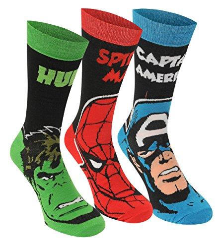 Calcetines Marvel para hombre oficiales