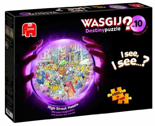 Jumbo Games Wasgij Destiny High Street Hassle Jigsaw Puzzle (1000Pezzi)