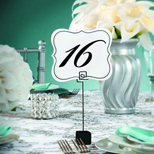 GF Table Number Cards 1 to 25 Bridal Wedding Party AB005