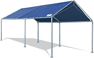 Quictent 10X20'ft Upgraded Heavy Duty Carport Car Canopy Party Tent with Reinforced..