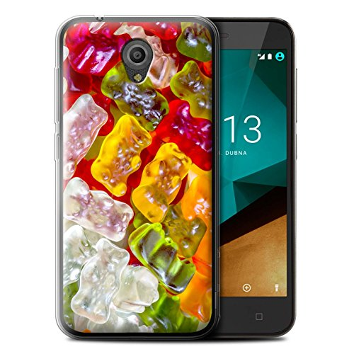 Stuff4® Gel TPU hoes/case voor Vodafone Smart Prime 7 / gummibeer patroon/zoetwaren collectie