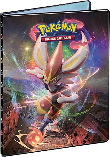 Funmo Pokémon Carte Album, Classeur pour Cartes Pokemon, Pokemon Cartes à Collectionner Album Stockage 120 Cartes 30 Pages Our Pokémon Commerce Cartes GX EX Trainer Cartes (Xerneas)