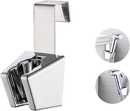 Bathroom Handheld Shower Head Sprayer Wall Mounted Fixed Bracket Holder CN