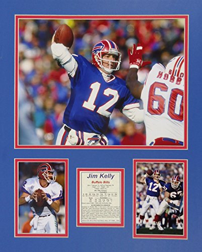 "Jim Kelly 16"" X 20"" Unframed Matted Photo Collage by Legends Never Die, Inc."
